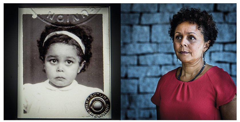 Valérie Andanson, 55 ans a été placée à la pouponnière de la Providence de Saint-Denis de la Réunion, puis exilée à Guéret (Creuse) en 1966. Valérie est ensuite placée dans une famille d'accueil à La Brionne (Creuse) où pendant 4 ans, elle est maltraitée par son tuteur.  Ce n'est qu'en 2014 qu'elle prend connaissance de son véritable patronyme, Marie-Germaine Perigogne et lors de son dernier voyage à La Réunion en 2017 qu'elle obtient enfin son certificat de naissance original prouvant qu'elle est bien née à La Réunion et non dans la Creuse. Porte-parole de la FEDD (Fédération des Enfants Déracinés des DROM, elle continue de se battre pour l'ensemble de ses compatriotes exilés de force.