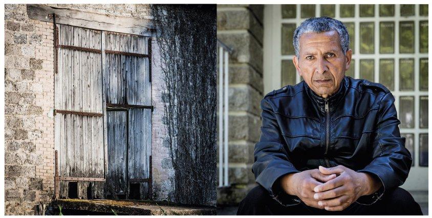 Jacques Dalleau, 64 ans exilé au foyer de l'enfance de Guéret en 1966 à l'âge de 13 ans, puis placé dans une ferme de Bourganeuf (Creuse) où il sera exploité comme garçon de ferme et maltraité pendant un an. Il décide alors de partir pour retourner au foyer de l'enfance d'où il sera placé dans une autre ferme, mais où il doit aussi travailler 7 jours sur 7 sans relâche, sans ménagement et sans reconnaissance. Ce n'est que quand il revient à Guéret pour suivre son apprentissage aux espaces verts que sa vie commence à s'améliorer. Il y travaillera comme jardinier jusqu'à sa retraite récente. Guéret, juin 2017) à droite, ancienne porte de grange, Masbaraud-Merignat, commune proche de Bourganeuf où Jacques Dalleau a été placé dans une famille de paysans. Il était garçon de ferme. Il en partira au bout d'un an à force de mauvais traitements.