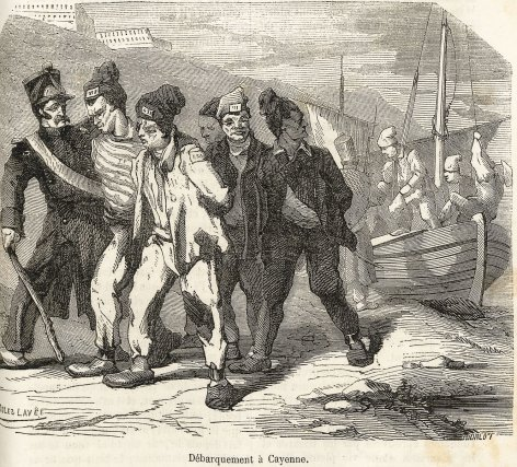 Une haine au bagne, Ed. Bunel, 1864..