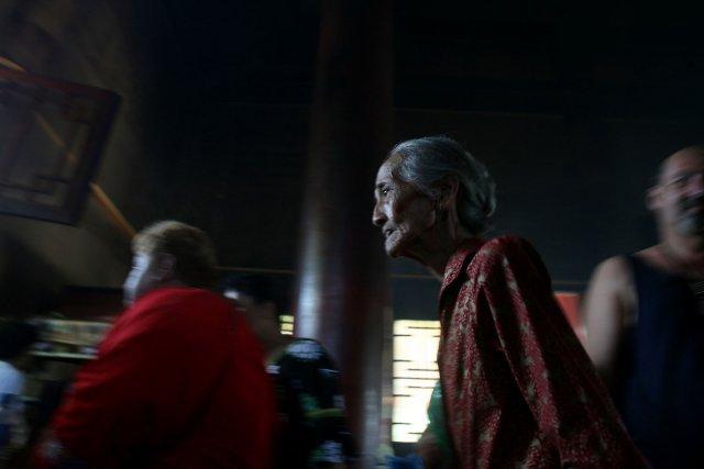 Le temple Kanti de Mamo - côte est de Tahiti - est le  centre de toutes les cérémonies du Nouvel An organisées par la fédération Sini Tong, qui regroupe dix associations culturelles. Plus de 3000visiteurs sont attendus durant cette journée à vocation culturelle. Chaque association y présente ses chants, danses, démonstrations de savoir-faire, calligraphies, etc.