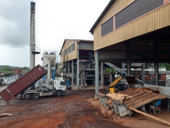 La centrale biomasse de Kourou