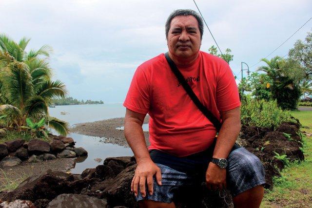 Patrick Rochette, pêcheur sur la presqu'île de Tahiti se bat pour la préservation des ressources. Il pense aux nouvelles générations.