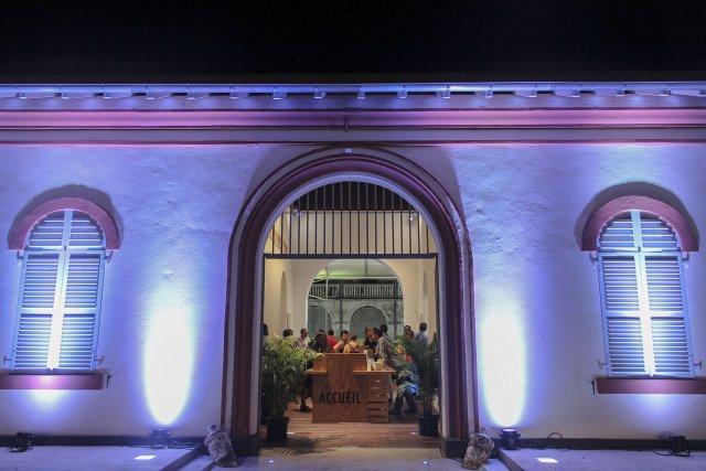 Pavillon de préfiguration de la Maison des cultures et des mémoires de la Guyane. 2014.