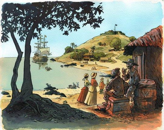 Restitution de la colonie hollandaise de Cayenne au XVIIe siècle.