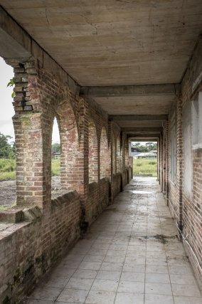 La galerie et les arcades sont très bien conservées.