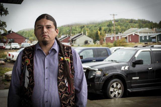 David Boivin, chef de la communauté de Wemotaci.