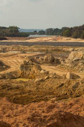 Le site de Belo Monte. (Nov. 2012)