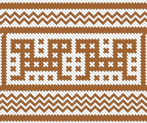 Matawat (wayana)  chenilles à deux têtes