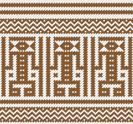 Akuwamay (kali'na) esprit de l'oiseau grand blanc