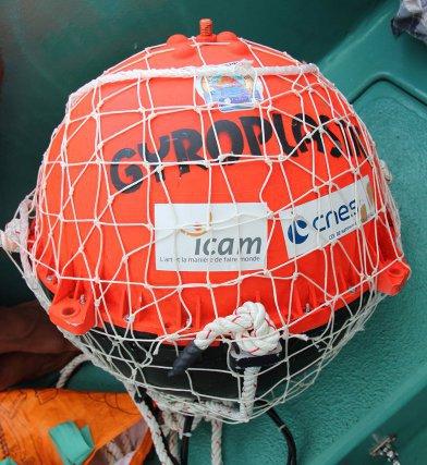 La bouée Gyroplastic des ingénieurs de l'ICAM.