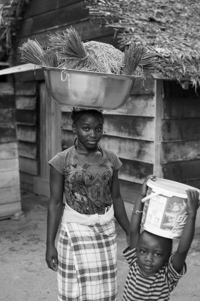 Village de Pikiseei, Suriname 2013.