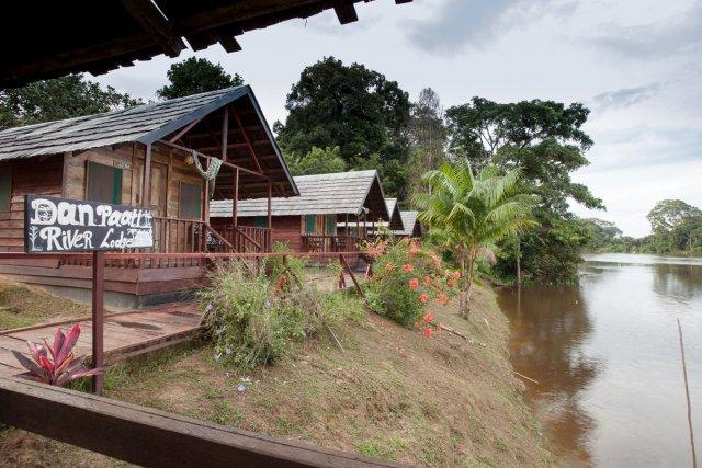 Danpaati River Lodge - fleuve Suriname - Suriname