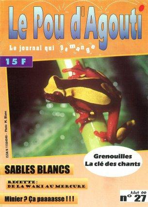 L'intégralité des publications du Pou d'Agouti a été numérisée par  la Sépanguy et intégrée à une bibliothèque numérique d'ouvrages naturalistes, mis gracieusement à la disposition des internautes.http://biguyne.graineguyane.org