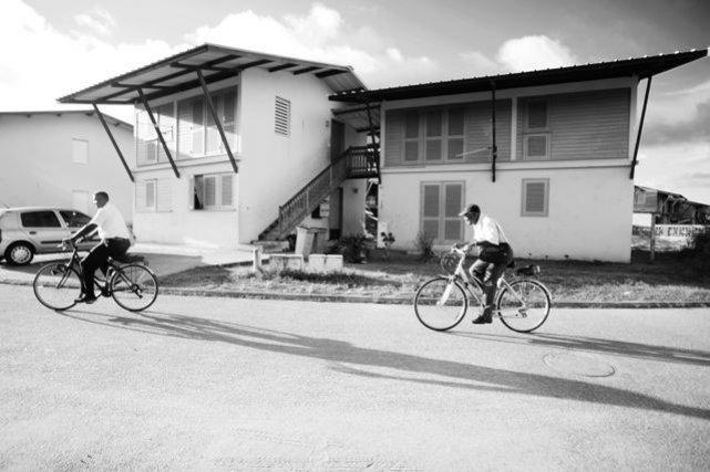 Habitation moderne dans le cadre de cette réhabilitation urbaine. Juin 2013.