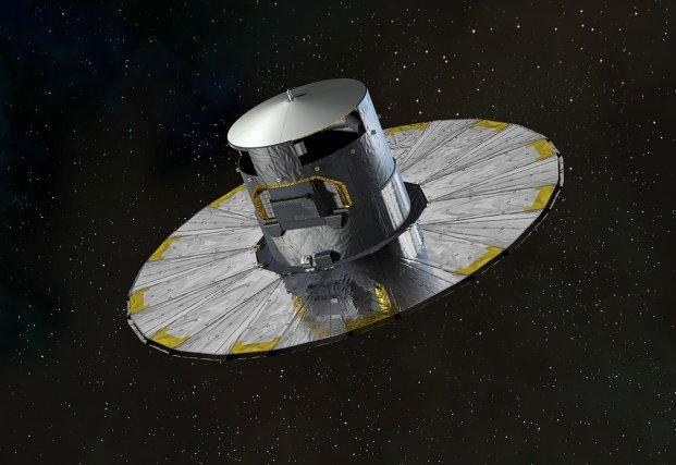Le Satellite télescope Gaïa mesure 10m d'envergure