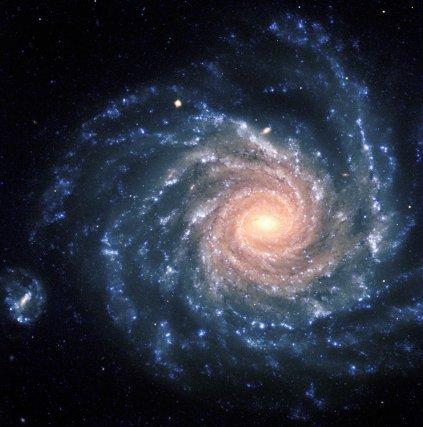 La galaxie spirale NGC1232 est située à 100 millions d'années-lumière. Photo European southern observatory (ESO) réalisée avec le Very large télescope (VLT).