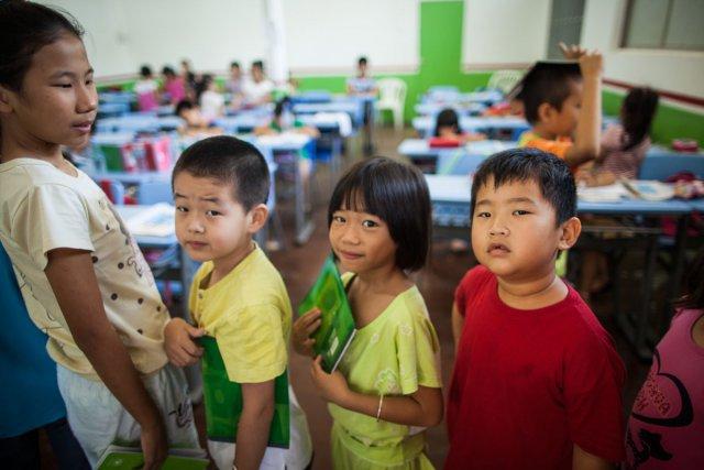 Cours de chinois à l'association Fa Kiao à Cayenne