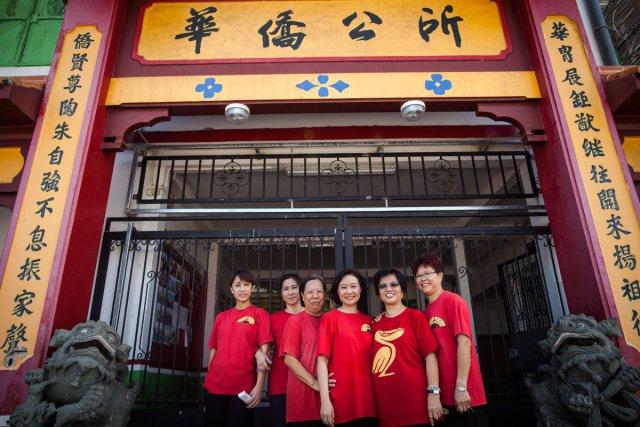 Le club de Tai-chi-chuan