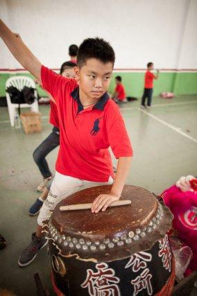 Préparation du nouvel an chinois par l'association Fa Kiao à Cayenne