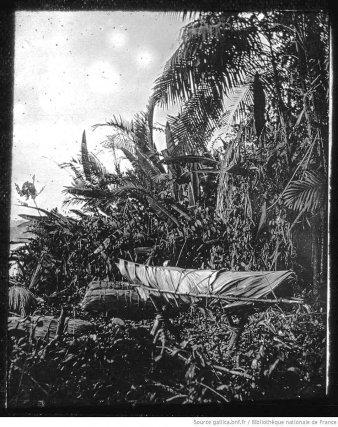 Orénoque, cercueils des Guaraounos, 1882.