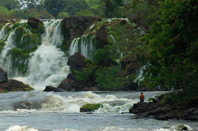 Les chutes du Désespoir (<i>Cachoeira do Desespero</i>) est un saut, situé au cœur du Parc, emblématique du fleuve Jari.
