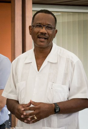 Claude Suzannon, président du conseil d'administration du Parc Amazonien de Guyane.