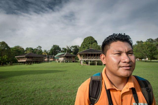 Alex est guide au centre Iwokrama.
