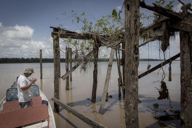L'ancien ponton du bourg