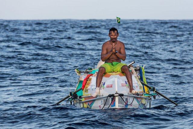 Le Kouroucien Patrice Maciel a fini par rejoindre les côtes guyanaises après plus de 80 jours de mer. Malgré les ennuis techniques, les problèmes physiques qu'il a dû surmonter, il n'a jamais perdu la foi.