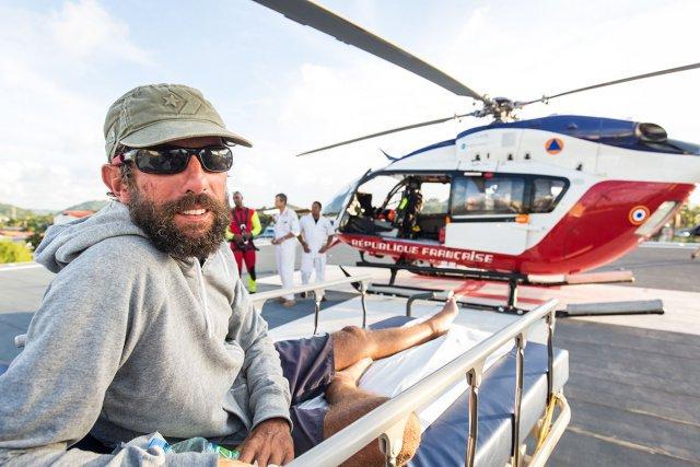 Olivier Ducap, lui aussi kouroucien, a malheureusement dû déclencher sa balise de secours pour raison de santé, à moins de 72 heures de l'arrivée. Il sera hélitreuillé par l'hélicoptère de la protection civile, le Dragon 973, et rapatrié à l'hôpital de Cayenne. Il était alors virtuel vainqueur de la course, à la lutte avec l'espagnol Antonio de la Rosa.