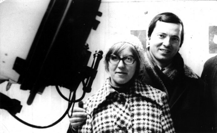 Svetlana Gerasimenko et Klim Churyumov codécouvreurs de la comète Tchouri, en 1975 au Tajikistan.