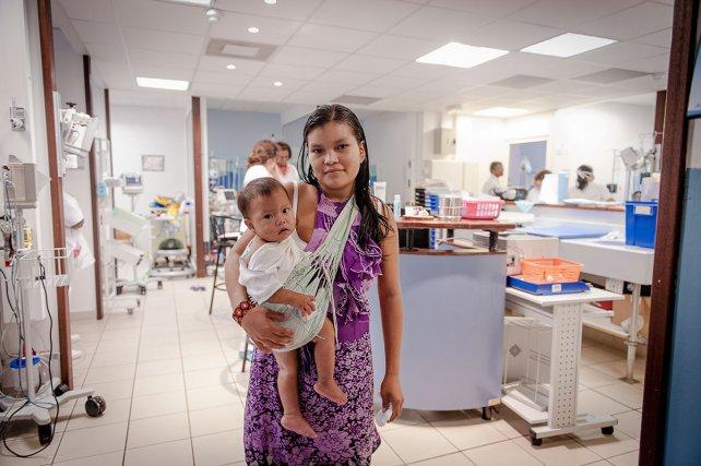 Le service pédiatrie au CHAR de Cayenne.