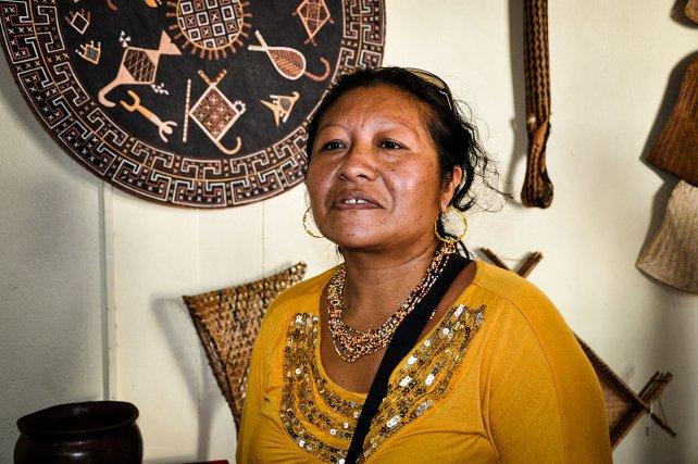 « Pour que l'art du maluwana continue à être aussi vivant, chaque génération d'artistes réinterprète la tradition. Cela signifie par exemple qu'on réinvente le bestiaire (trouver de nouveaux animaux, de nouvelles formes… puisés dans la mythologie notamment). Ce travail de recherche et de création doit être reconnu et protégé au même titre que les autres productions artistiques préservées par le CPI (code de la propriété intellectuelle). Pour ma part, je n'aurais jamais osé travailler les traditions iconographiques wayana et teko si je n'avais pas de racines et reçu un enseignement dans ces deux communautés. »Ti'iwan Couchili.