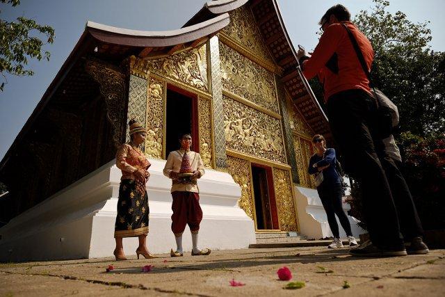 Le plus grand temple de Luang Prabang, Xieng Thong