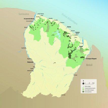 L'exploitation forestière en Guyane