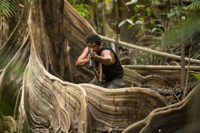 La plupart des scènes de la série Guyane ont été tournées en décor naturel