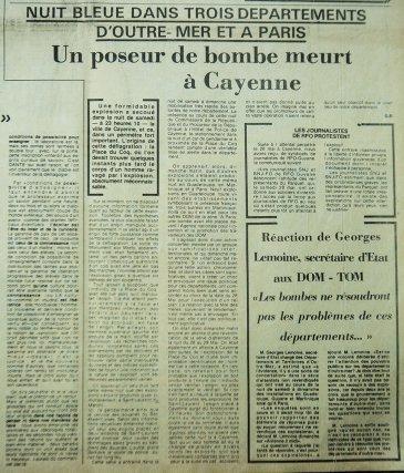 France-Guyane de juin 1983