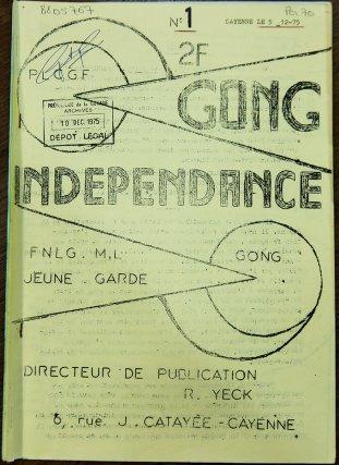 Journal du GONG, décembre 1975.