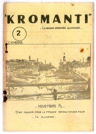 Kromanti, série de BD militante parue en 1974.