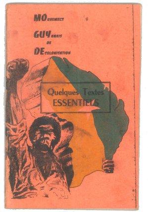Livret fondateur du mouvement du MoGuyDe en 1974.