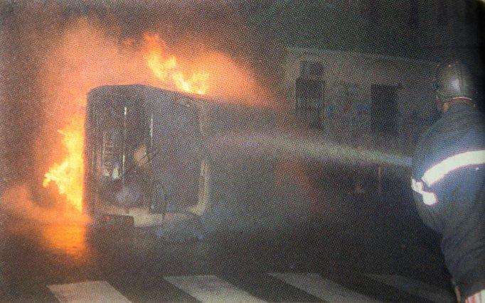 Du 8 et du 13 novembre 1996, des voitures sont brûlées ou retournées durant les émeutes lycéennes. Cayenne a connu 4 nuits d'émeutes. La principale avenue - De Gaulle, fut pillée.