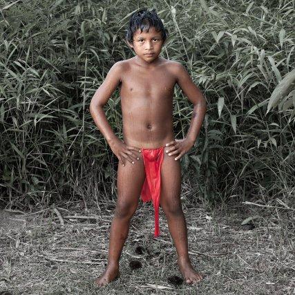 "Derrick ""Tukanu"" Jubitana Opoya, 8 ans - Wayana / Arawak-Kaliña -  Village de Tahluwen"