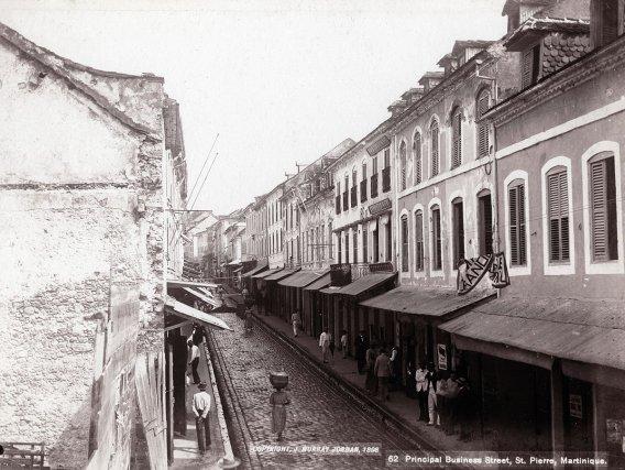 St-Pierre en 1898