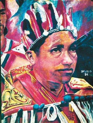 Laluwai (Romuald Thérèse), ancien chef coutumier d'Awala.