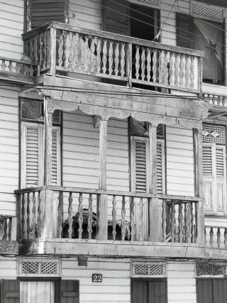 22 rue Javouhey : maison Médaille, inscrite Monument historique.