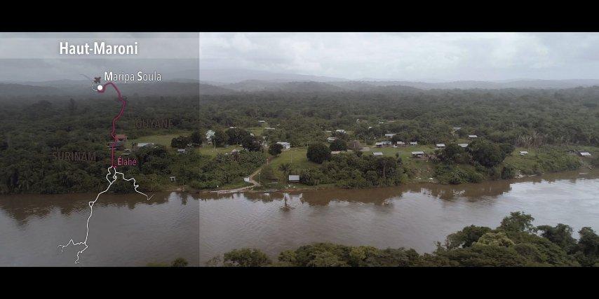 Vue aérienne d'Elahé