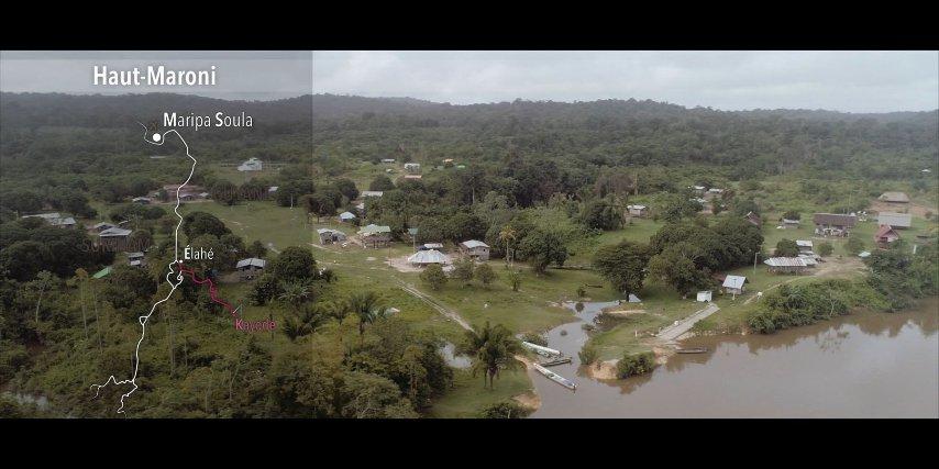 Vue aérienne Kayodé