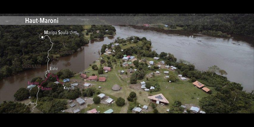 Vue aérienne Twenké-Taluhen