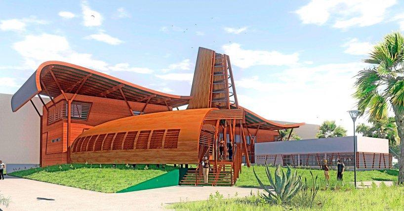 La Maison de la forêt et du bois de Guyane - Gaïa Architecture / Abriba