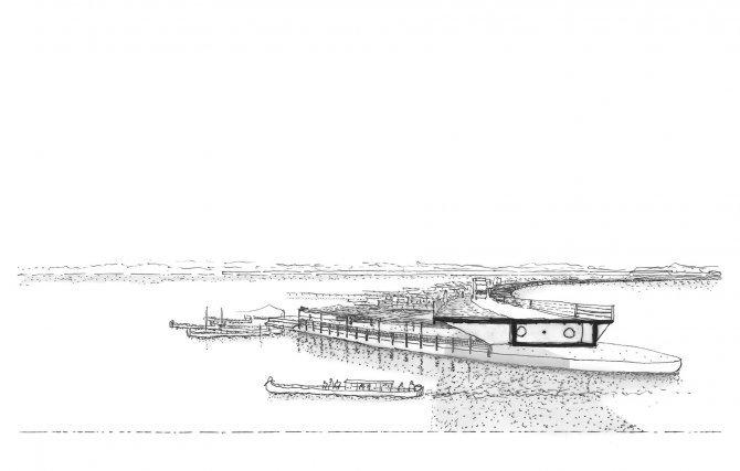 Un marché-pont flottant sur le Maroni